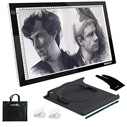 A3 LED Tracing Light Box Art Tattoo Drawing Copy Pad Table Stencil Board Display