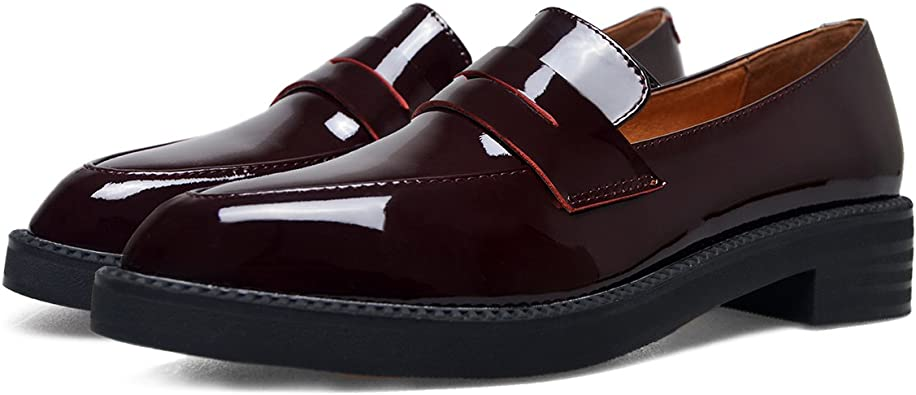 Women's Loafers Faux Leather Students