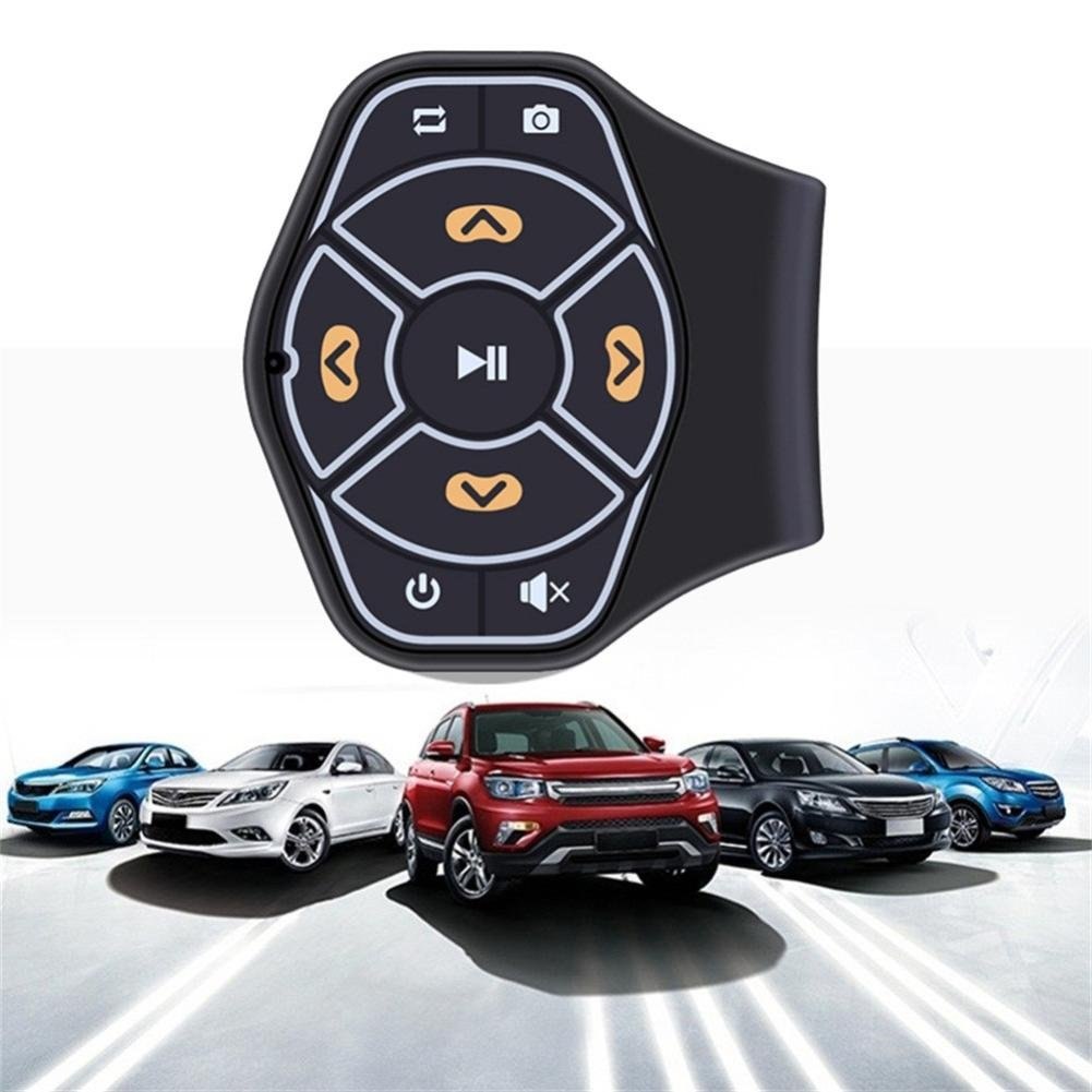 GBSELL Universal Wireless Steering Wheel Hands-free Button Remote Control