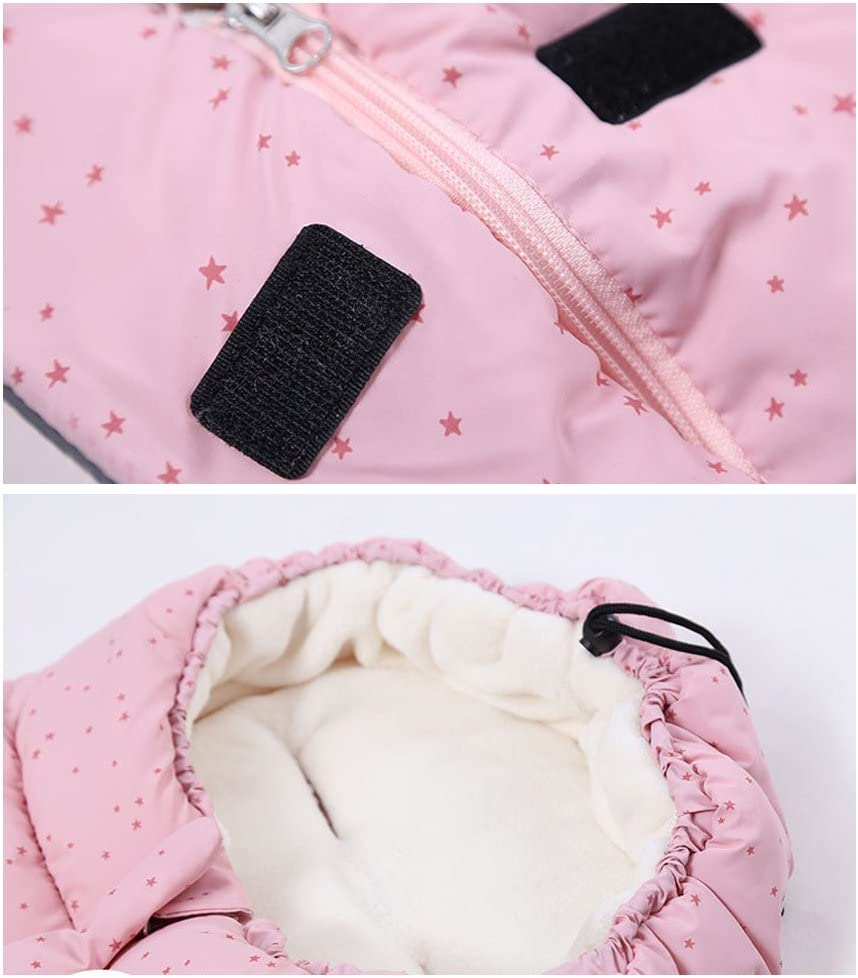 Blue Star Stroller Sleeping Sack Newborn Warm Footmuff for Pushchair Pram Universal Swaddle Wrap 0-6 Months Baby Sleeping Bag 3 Tog