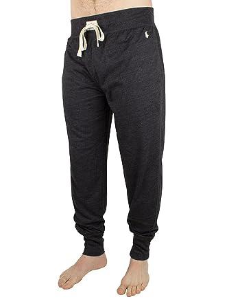 Polo Ralph Lauren Hombre Logo Marled Pyjama Joggers, Gris, X-Large ...