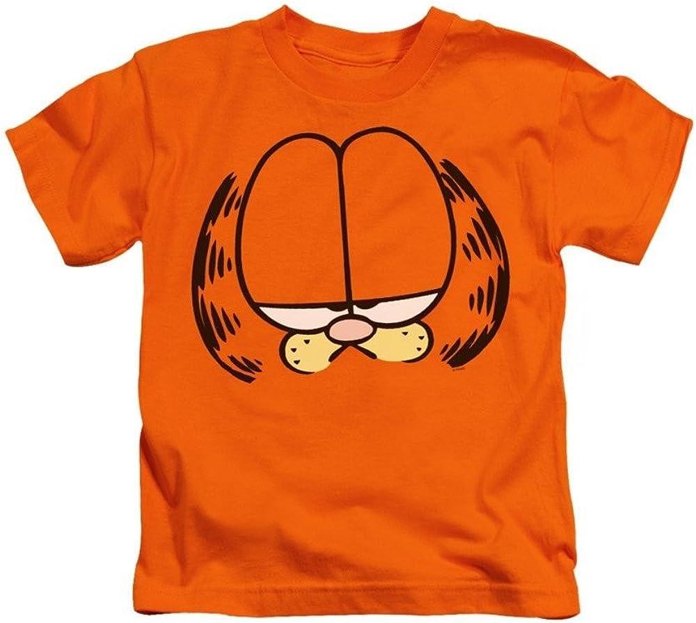 Amazon Com Garfield Big Head Kids T Shirt Clothing