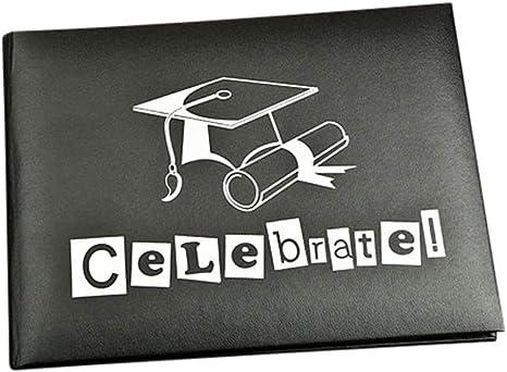 Fashioncraft 12902 Graduation Autograph Book Black
