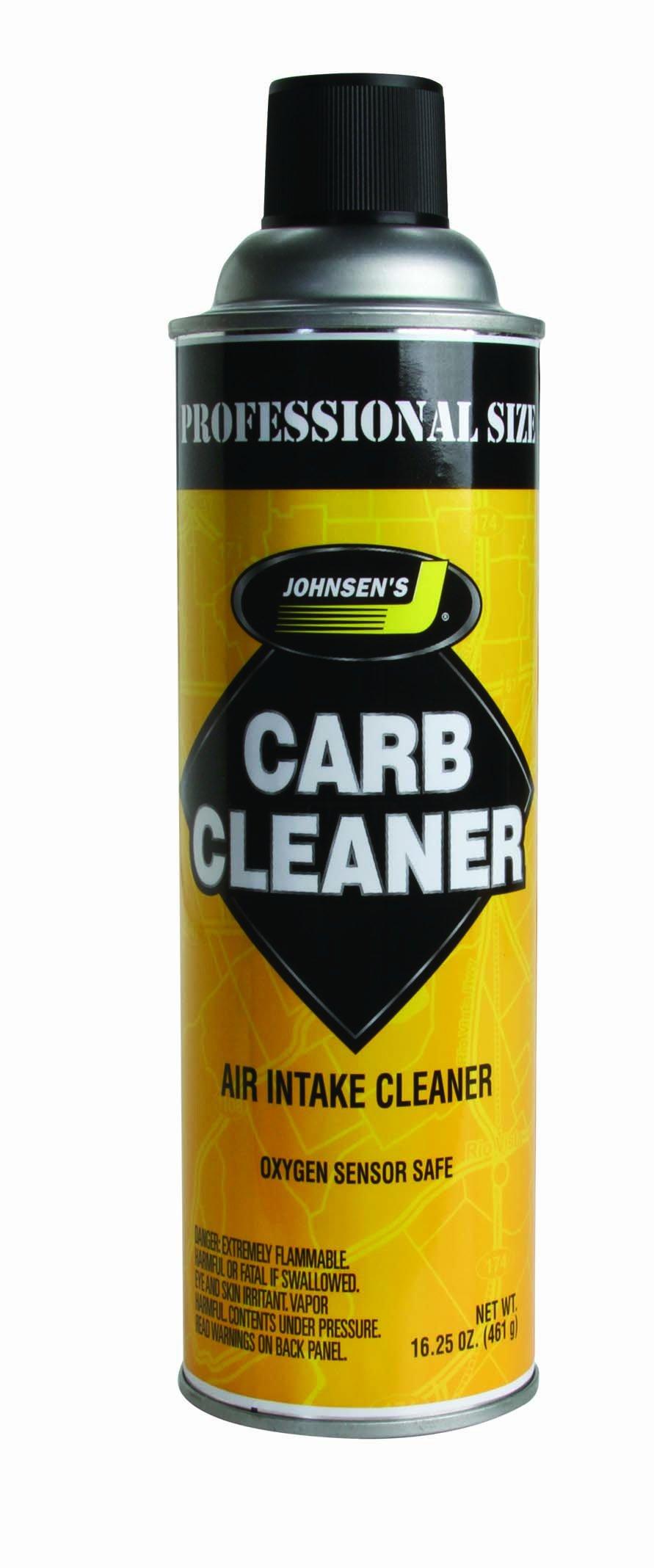 Johnsen's 4642NC-12PK Non-VOC Compliant Carburetor Cleaner - 16.25 oz., (Pack of 12)