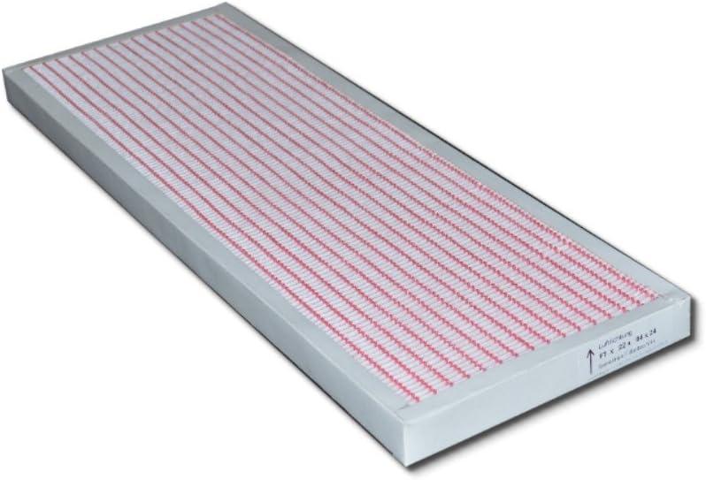 Pollenfilter Mini Pleat 300//400 m/³//h Filter F7 f/ür Viessmann Vitovent 300 W