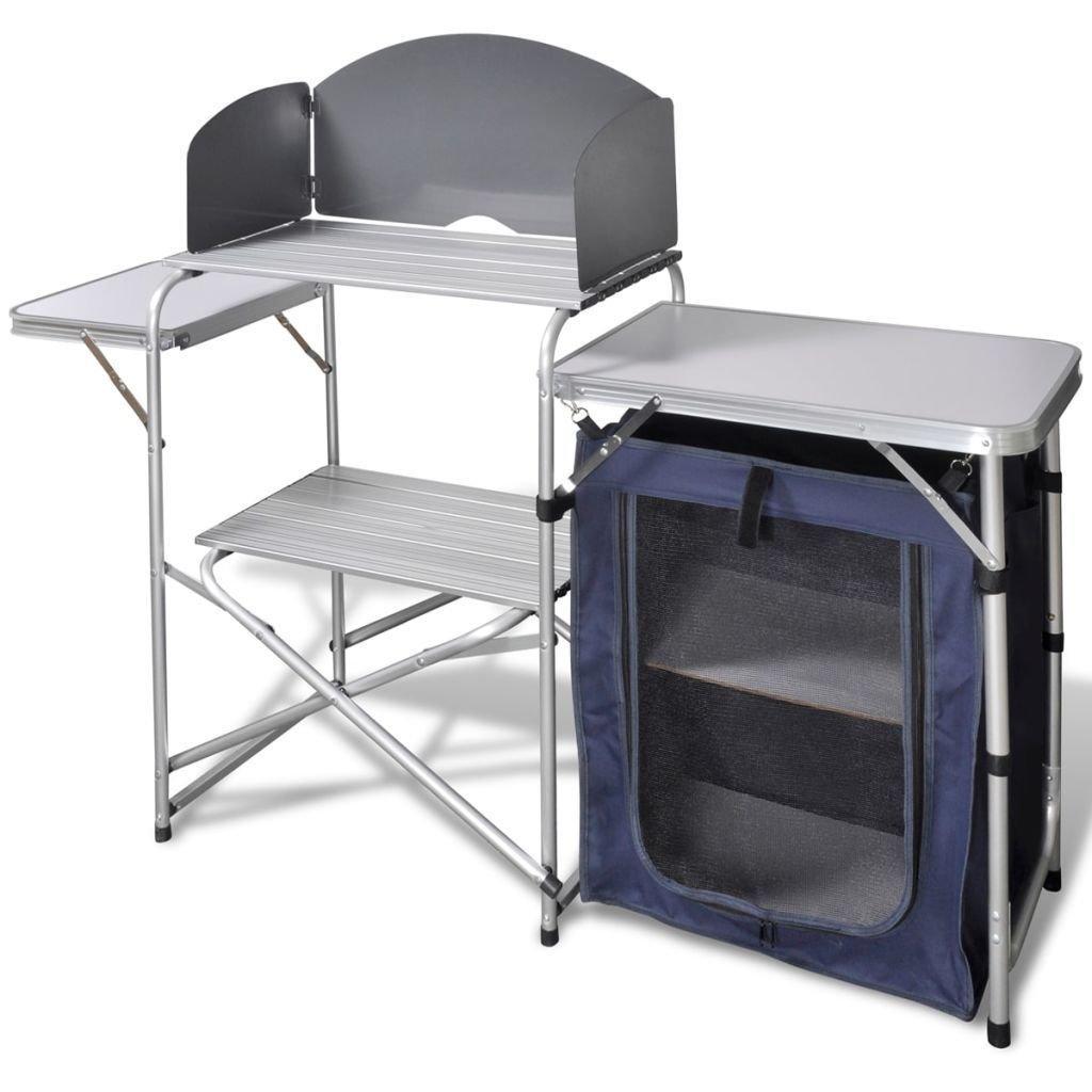 Amazon.com: BestFurniture - Estantería plegable para mesa de ...
