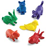Learning Resources Domestic Pets Counters, Set of 72