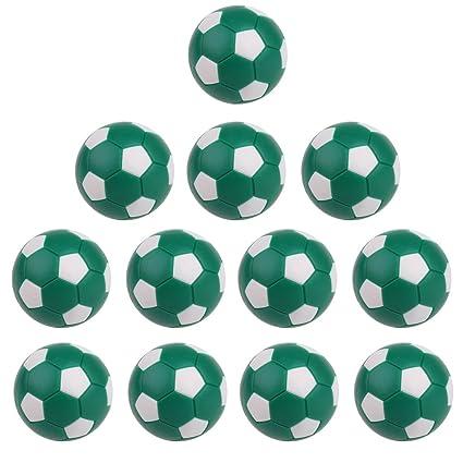 6 Stück Tischfußball 36mm Kunststoffkugeln für Foosball Machine