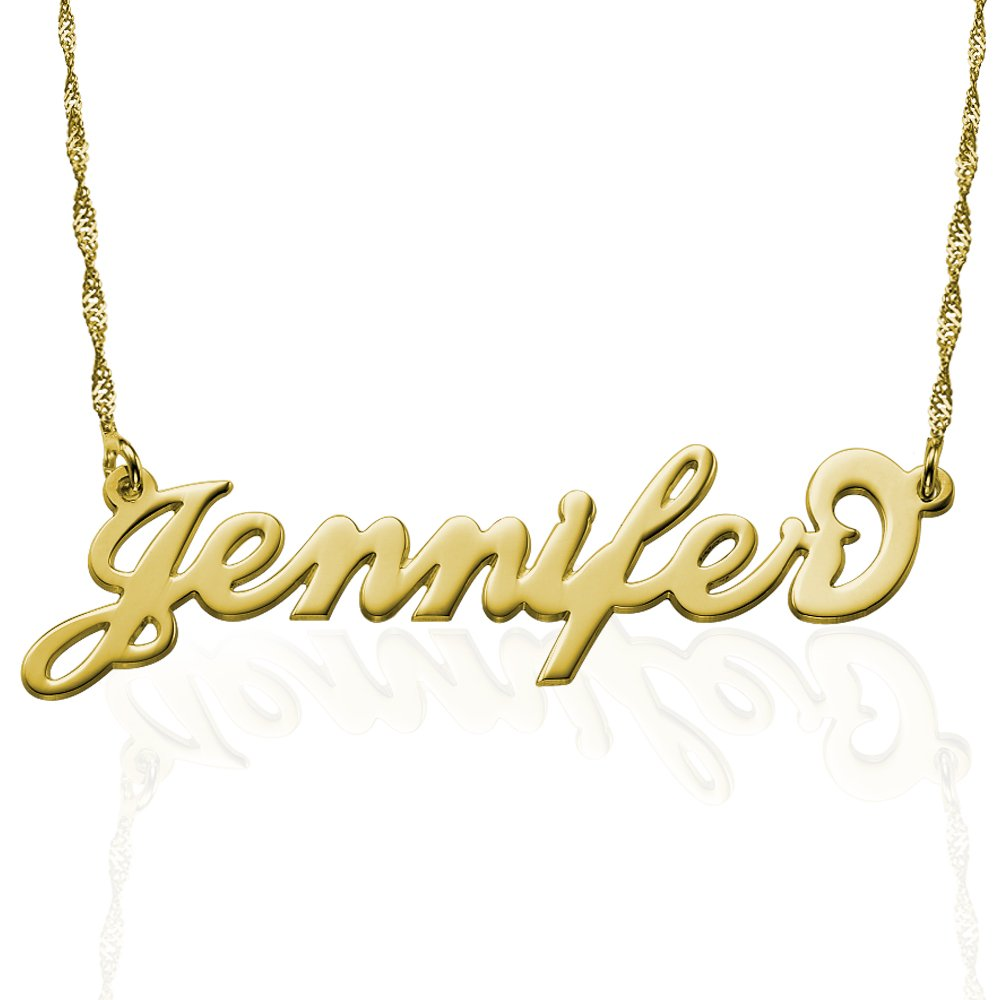 Personalized Name Necklace - Necklace with Name Pendant Custom Made - Gift For Her