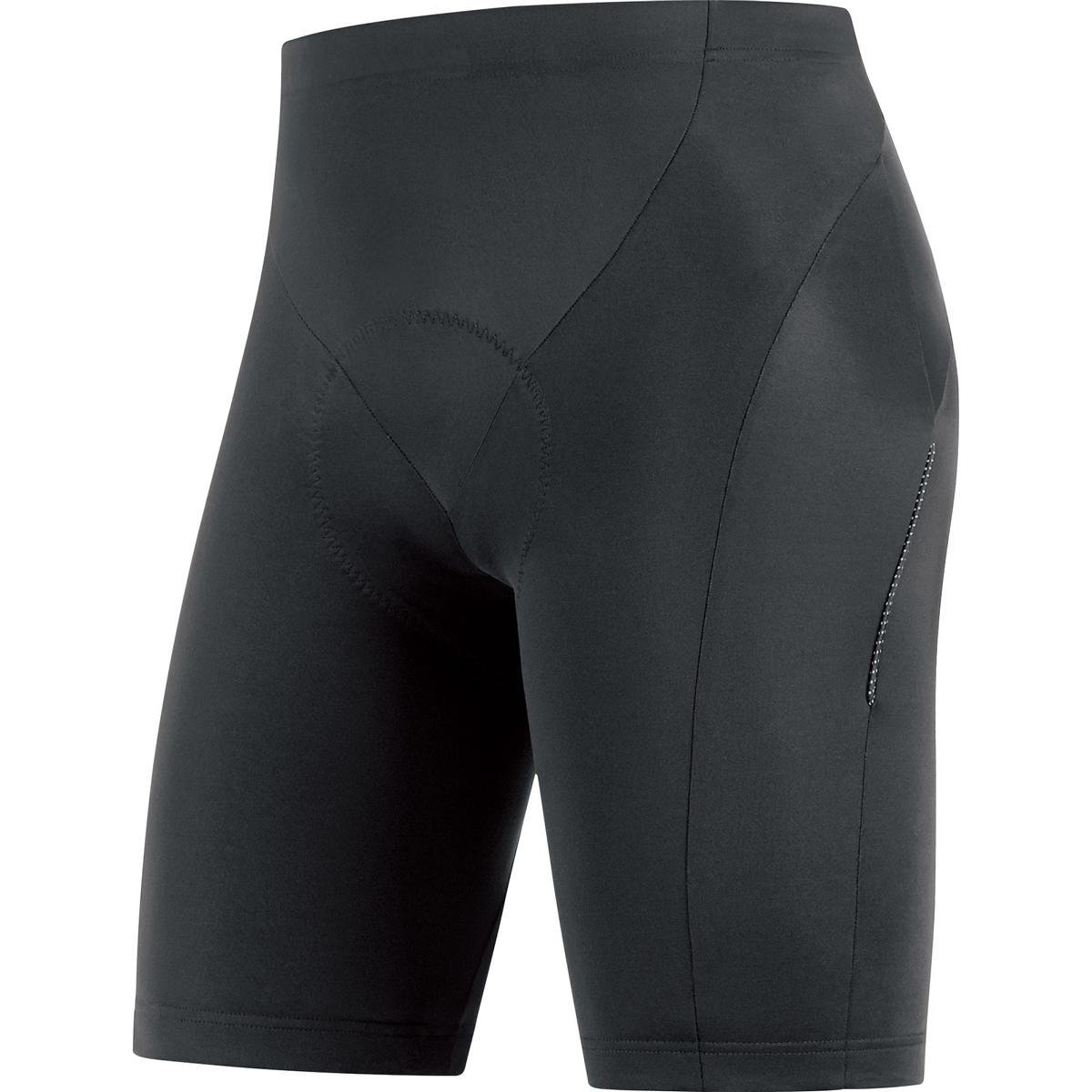 GORE BIKE WEAR Men's 2 in 1 Knee-length Cycling Shorts, Integrated inner lining with seat padding, GORE Selected Fabrics, 2in 1 Shorts+, TSPELE990003 Pantalón Corto Hombre Badana Tights short+