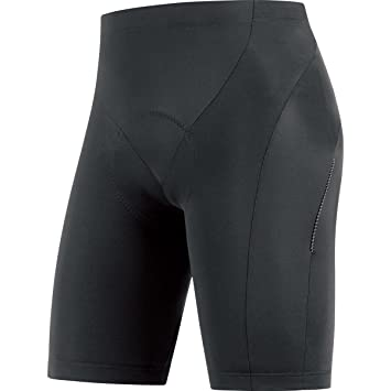Gore Bike Wear Herren Fahrradhose, Kurz, Sitzpolster, GORE Selected  Fabrics, Tights short+