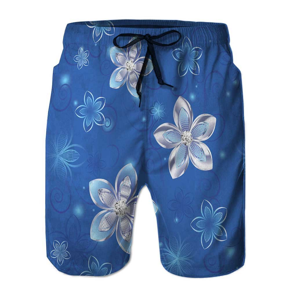 Men's Beach Home Shorts,Jewelry Loose Shorts