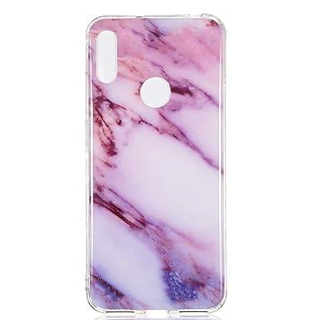 coque huawei y6 pro 2019 marbre