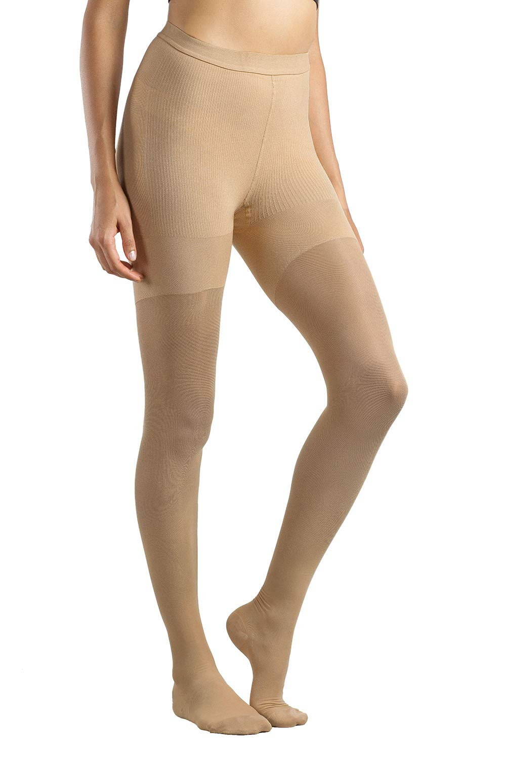 cb15477787932 Amazon.com: +MD Sheer Compression Pantyhose 15-20mmHg Medical Graduated Anti -Embolism Stocking for Edema, Varicose Veins, Blood Clot NudeM: Health ...
