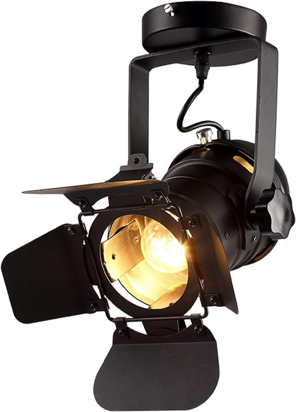 Retro Spot Light Industrial Ceiling Track Lighting Stage Spotlight Pendant Lamp