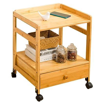 Feifei Material de bambú Sofá extraíble Mesa Auxiliar Mesa de Centro ...