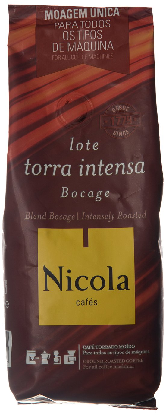Amazon.com : Nicola Premium Ground Coffee (Intensily Roasted, Pack of 1) : Grocery & Gourmet Food