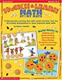 Munch & Learn Math Story Mats: 15 Reproducible Learning Mats with Instant Activities That Use Munchable Manipulatives to Teach Important Math Skills