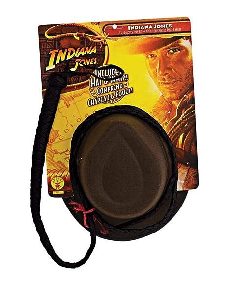 834c1317feb57 Horror-Shop Indiana Jones Sombrero y el látigo Set  Amazon.es ...