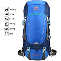 Ameiseye Waterproof Hiking Daypack Trekking Rucksacks (Blue)