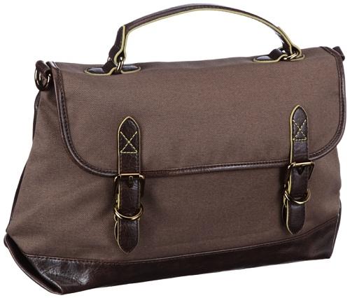 ESPRIT Esprit Tasche - Bolso de mano de material sintético mujer Braun (Mud Grey 036)