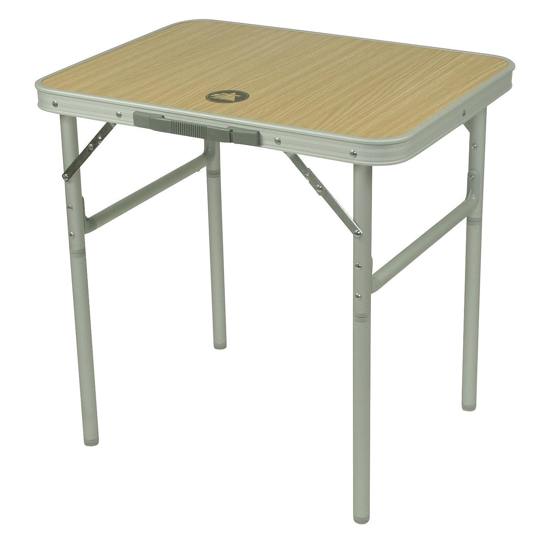 10T Tavolo da campeggio porTABLE, 60x45x59 cm, colore: Argento 10T Outdoor Equipment 760278