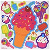 """Amscan Easter Favor Sweet Treats Decal, 8"""" x"""