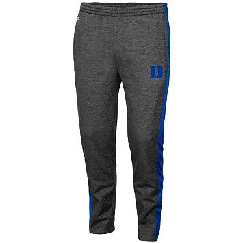 Charcoal, Colosseum Duke Blue Devils Adult NCAA Luge Fleece Pants