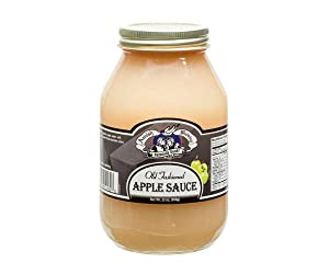 Amish Wedding Foods Old Fashioned Applesauce, TWO 32 oz. Jars