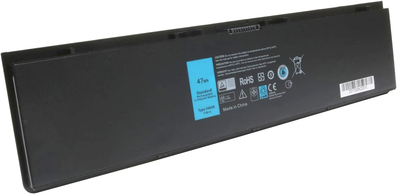 7.4V 47Wh PFXCR 34GKR E7440 Battery Replace for Dell Latitude E7440 E7420 E7450 Series F38HT G95J5 G0G2M 909H5 0909H5 451-BBFT 451-BBFV 451-BBFY Laptop
