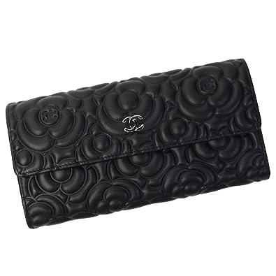 low priced 78914 5805a Amazon | シャネル CHANEL 財布 レディース フラップ式 ...
