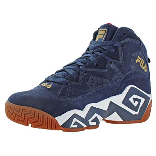 Fila - Pantalones MB Fashion Sneaker, Azul Marino/Blanco/Oro ...