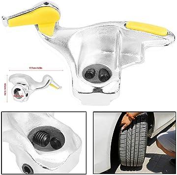 Qiilu Stainless Steel Car Tire Changer Mount Demount Duck Head Tool Diameter 28mm 30mm 30mm
