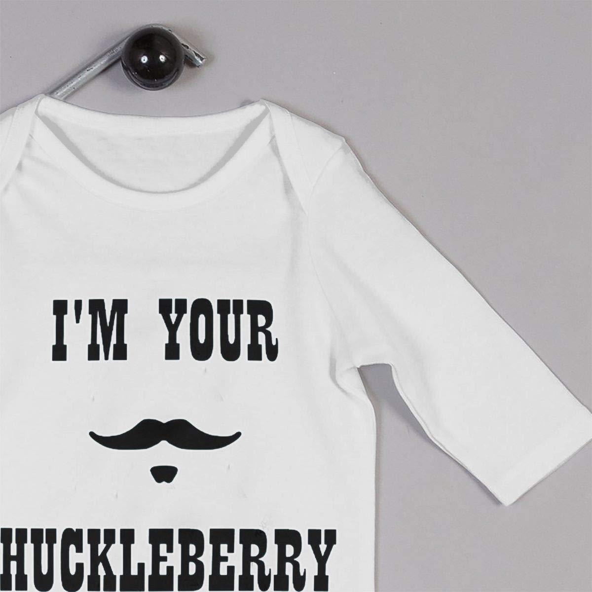 Im Your Huckleberry Doc Holliday Unisex Long Sleeve Baby Gown Baby Bodysuit Unionsuit Footed Pajamas Romper Jumpsuit