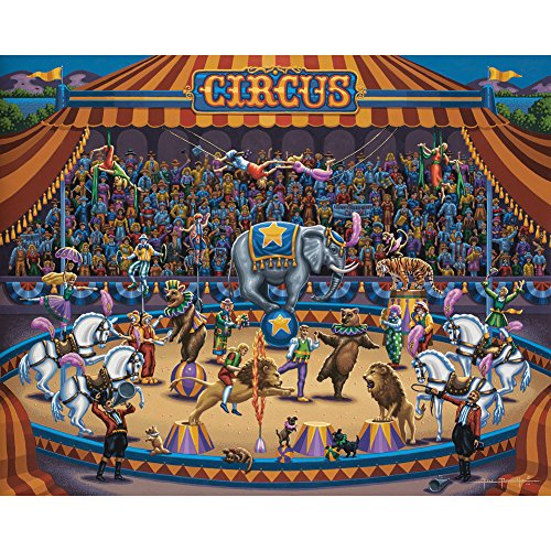 - Jigsaw Puzzle - Circus Stars 100 Pc By Dowdle Folk Art by Dowdle Folk Art