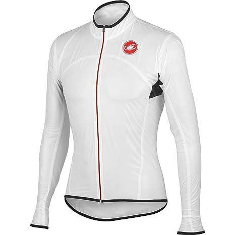 Castelli Jacken Sottile Due White XL: : Sport