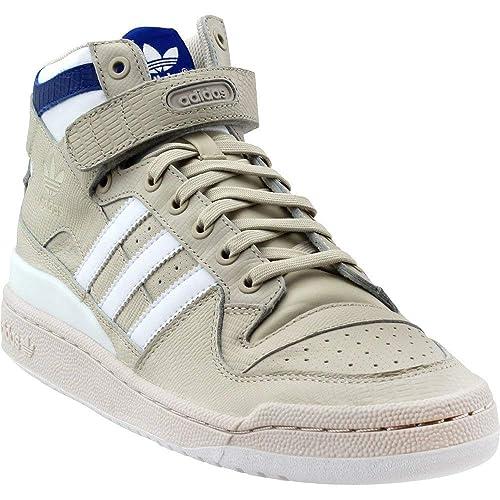 new style 987d2 bbeb2 adidas Originals - Forum Mid Uomo, Marrone (Clear Brown White Collegiate  Royal