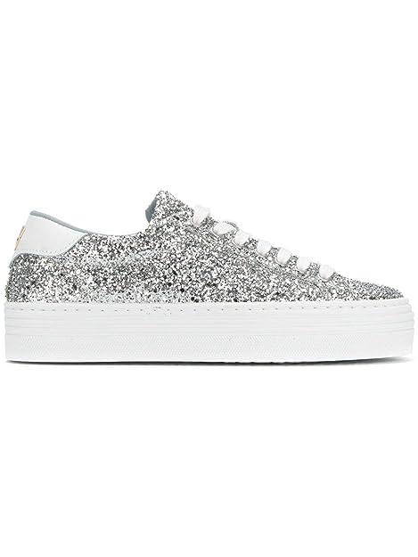 Ferragni Sneakers Cf1714silver ArgentoAmazon Donna Chiara Glitter JTlK1cF