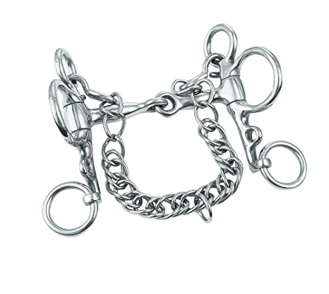 Amazon Com Weaver Leather Snaffle Mouth Miniature Pelham Bit