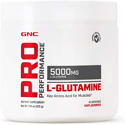 GNC Pro Performance L-Glutamine 5000mg 225 g