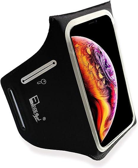 Allenamenti Palestra Fitness e Sport Armband 5.8 Custodia Porta Telefono per Corridori Impermeabile iPhone XS Sportive Fascia da Braccio