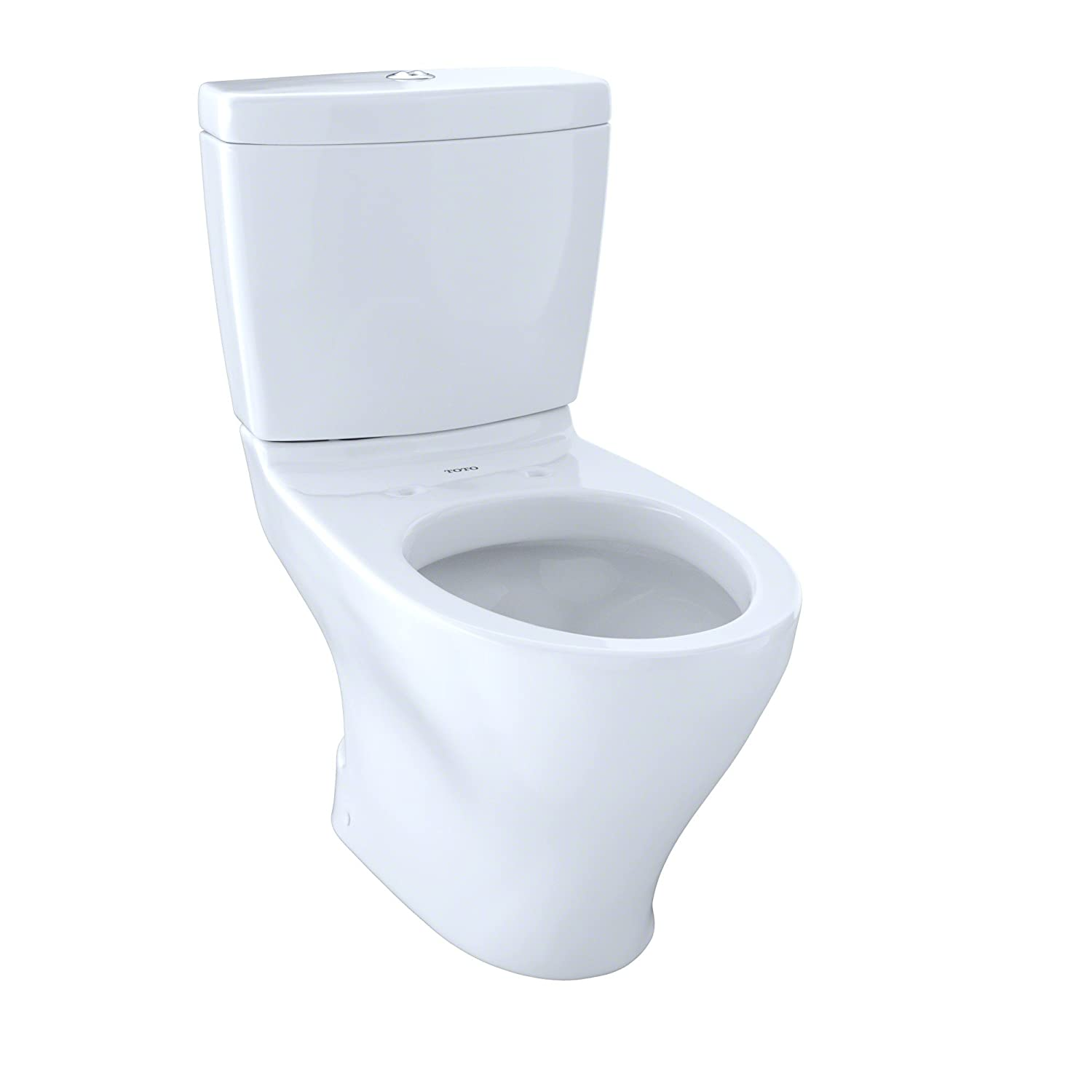 TOTO CST416M#01 Aquia II 2-Piece Toilet with Regular Height Bowl and ...