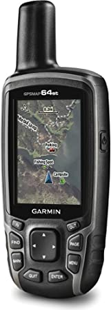 Garmin GPSMAP 64st Worldwide Handheld GPS with1 Yr. Birdseye Subscription and Preloaded TOPO U.S. 100K Maps 32GB MicroSD Memory Card Bundle
