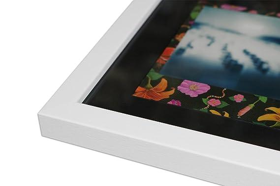 WandStyle Style de Photos Cadre pour Polaroid Serie A850 Blanc cérusé  Normal Mural en Verre avec Passe-Partout Noir pour 3 Polaroids  Amazon.fr   Cuisine   ... 31e27519b20e