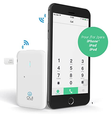 Amazon.com: Dual SIM adaptador para iPhone 5S/6/6S/6Plus/6S ...