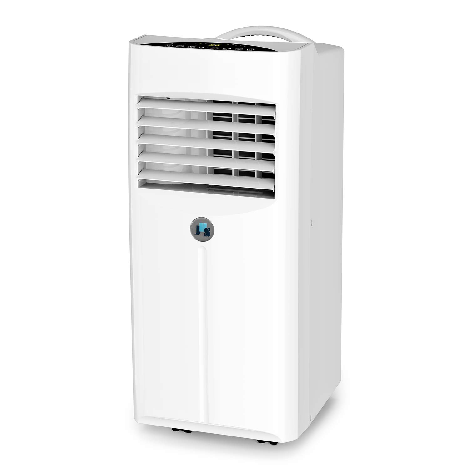 JHS 10,000 BTU Portable AC Unit for Rooms, Air Conditioner Portable with Dehumidifier and Fan, Remote Control, Digital LED Display, 220 Sq.Ft