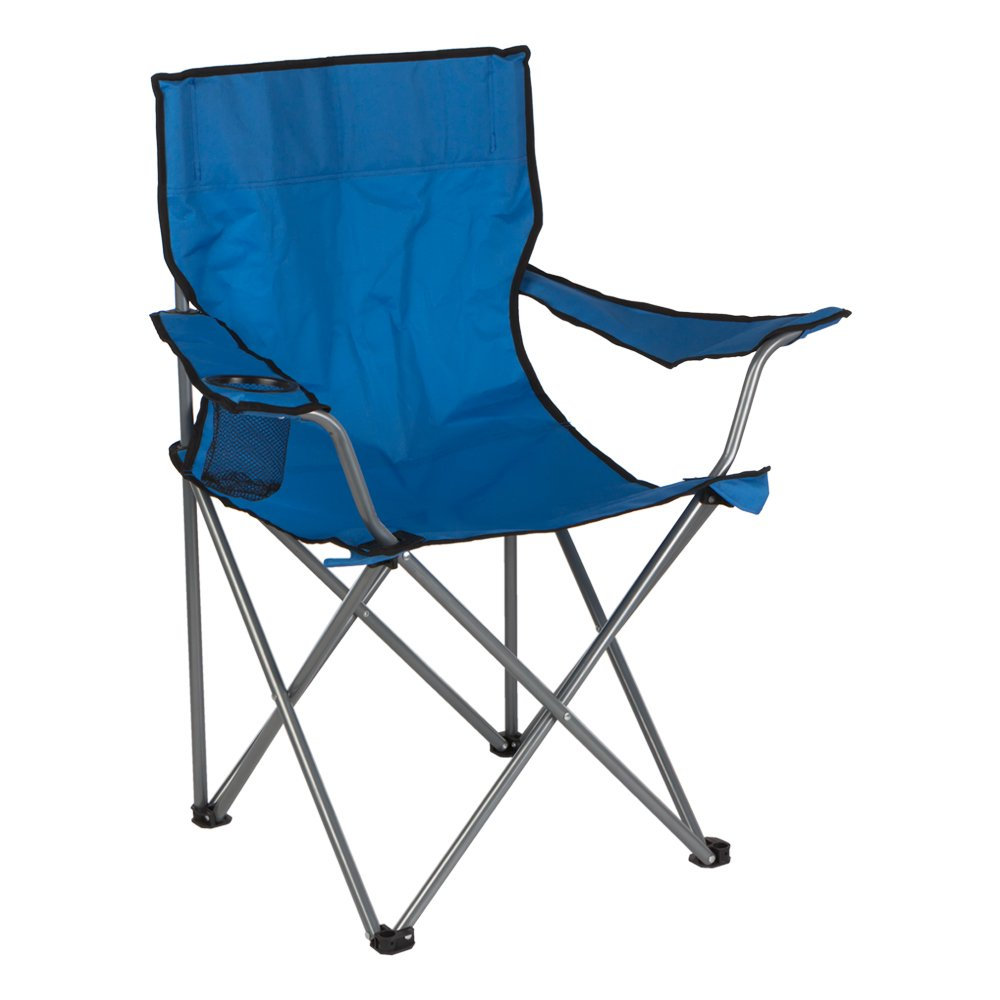 color azul ColorBaby 85278 Aktive 52 x 52 x 88 cm Silla plegable de camping