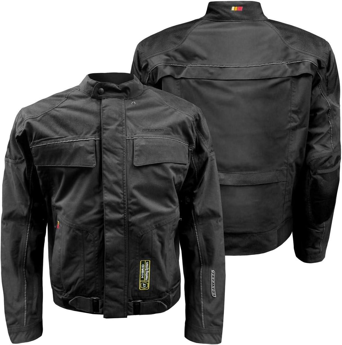 Gerbing 12V Mens Hybrid LT Heated Motorcycle Jacket