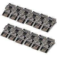 Keywish 10pcs NRF24L01+ 2.4GHz Wireless RF Transceiver Module for Arduino Raspberry Pi (NRF24L01+ Module)