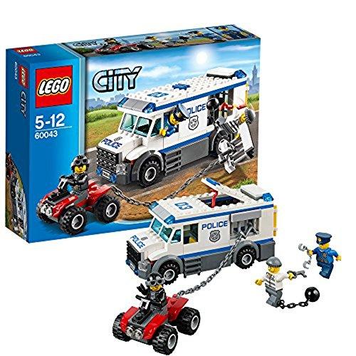 (LEGO City 60043 Prisoner Transporter)